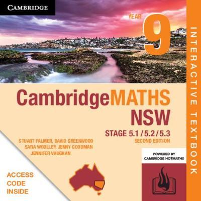 Cambridge Maths Stage 5 NSW Year 9 5.1/5.2/5.3 Digital (Card) by Stuart Palmer