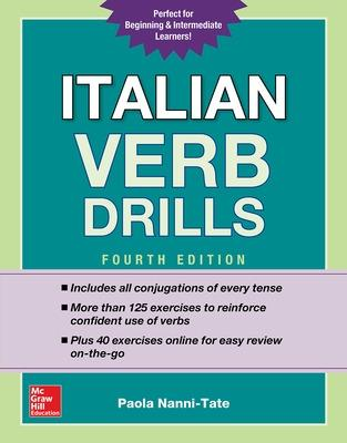 Italian Verb Drills, Fourth Edition by Paola Nanni-Tate