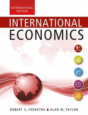 International Economics by Rob Feenstra