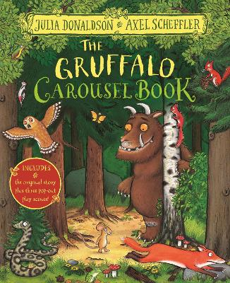 The Gruffalo Carousel Book book