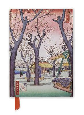 Hiroshige: Plum Garden (Foiled Journal) by Flame Tree