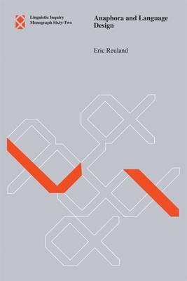 Anaphora and Language Design by Eric J. Reuland