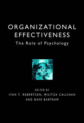 Organizational Effectiveness book
