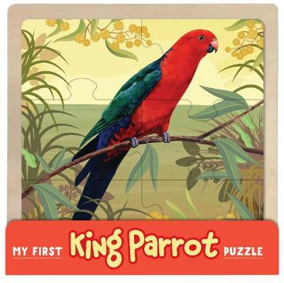 My First Wooden Jigsaw: King Parrot by