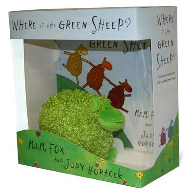 Where Is The Green Sheep? Hardback Book And Plush Toy BoxedSet by Mem Fox