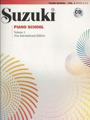 Suzuki Piano School Volume 1 with CD by Dr. Shinichi Suzuki