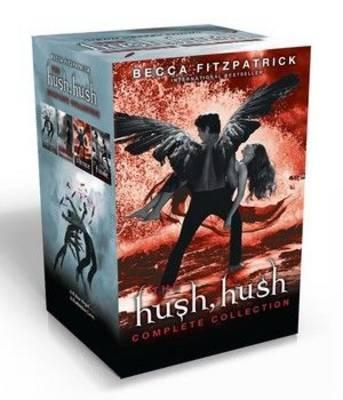 Hush, Hush PB slipcase x 4 by Becca Fitzpatrick