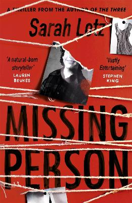 Missing Person: 'I can feel sorry sometimes when a books ends. Missing Person was one of those books' - Stephen King book