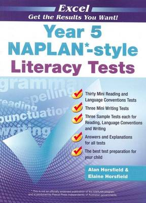 NAPLAN-style Literacy Tests: Year 5 by Alan Horsfield