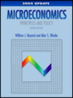 Microeconomics: Principles and Policy by Alan S. Blinder