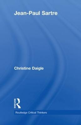 Jean-Paul Sartre by Christine Daigle