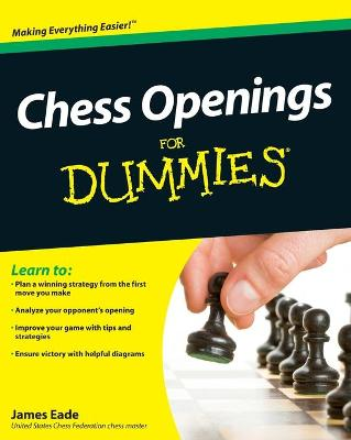 Chess Openings for Dummies book