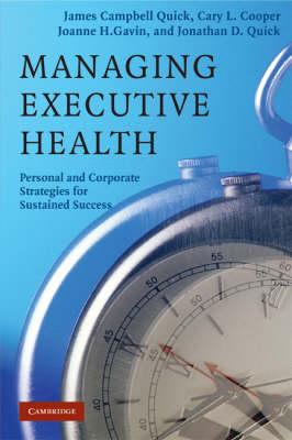 Managing Executive Health book