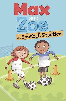 Max and Zoe at Football Practice by Shelley Swanson Sateren