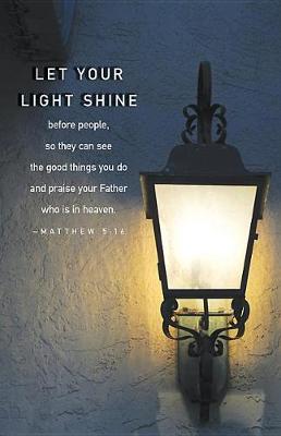 Let Your Light Shine Scripture Series Bulletin (Pkg of 50) by