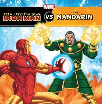 The Invincible Iron Man Vs Mandarin by Tomas Palacios