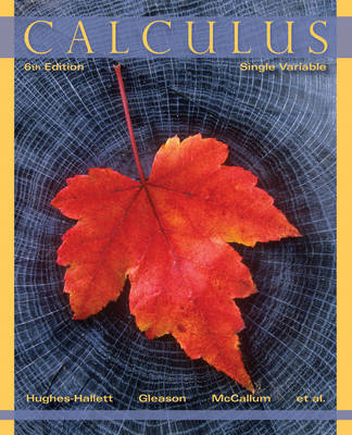 Calculus by Deborah Hughes-Hallett