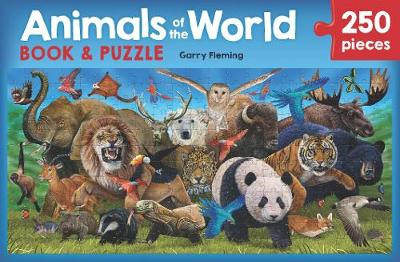Animals of the World Book and Puzzle by Garry Fleming