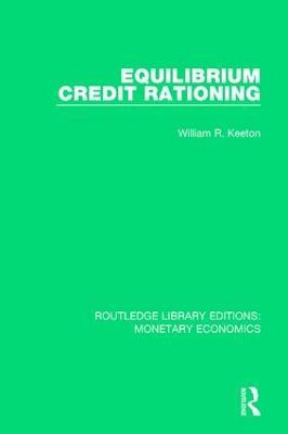 Equilibrium Credit Rationing book