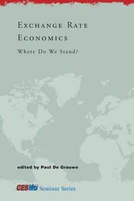 Exchange Rate Economics by Paul de Grauwe