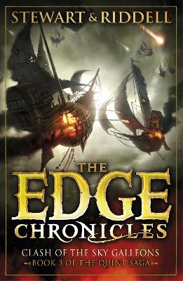 Edge Chronicles 3: Clash of the Sky Galleons book