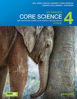 Jacaranda Core Science Stage 4 NSW Australian Curriculum 2E LearnON & Print by Paul Arena