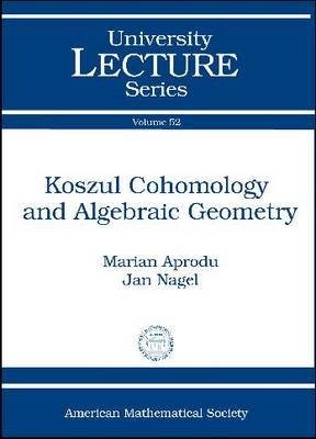 Koszul Cohomology and Algebraic Geometry by Jan Nagel