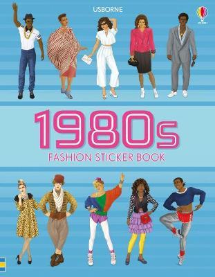 1980s Fashion Sticker Book book