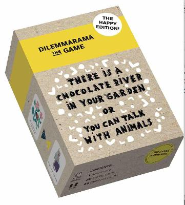 Dilemmarama the Game: Happy edition: The game is simple, you have to choose! by Dilemma op Dinsdag