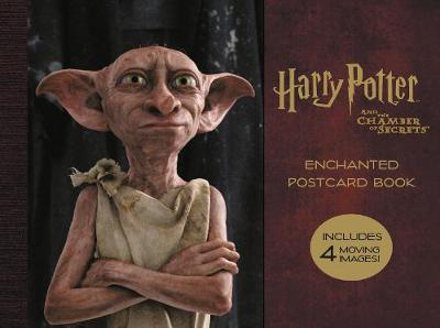 Harry Potter and the Chamber of Secrets Enchanted Postcard Book by None