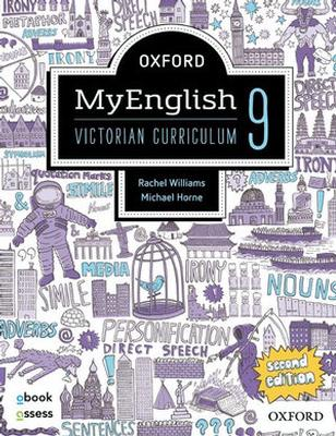 Oxford MyEnglish 9 VIC Student book + obook assess by Rachel Williams