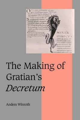 Making of Gratian's Decretum book