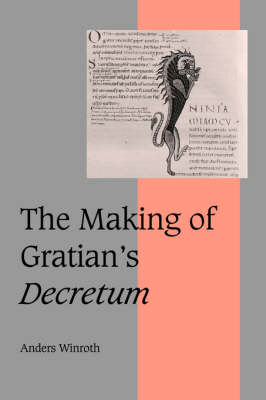 Making of Gratian's Decretum book