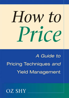How to Price by Oz Shy