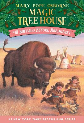 Magic Tree House 18 Buffalo Before Breakfast by Mary Pope Osborne