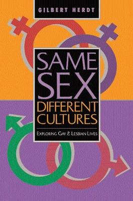 Same Sex, Different Cultures book