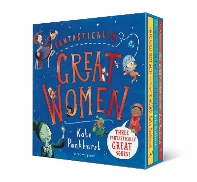 Fantastically Great Women Boxed Set: Gift Editions by Kate Pankhurst