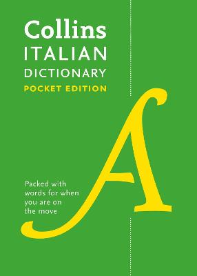 Collins Italian Dictionary Pocket Edition by Collins Dictionaries