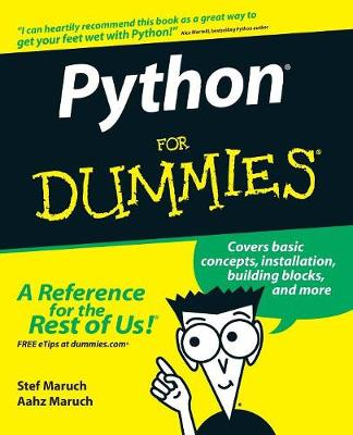 Python For Dummies book