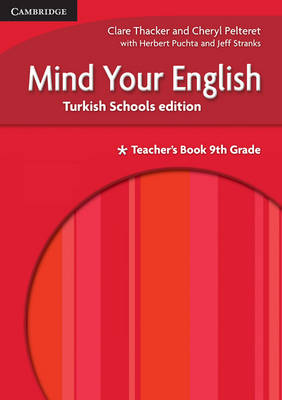 Mind your English 9th Grade Teacher's Book Turkish Schools edition by Claire Thacker