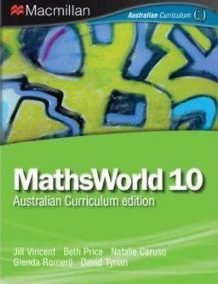 MathsWorld 10 by Jill Vincent