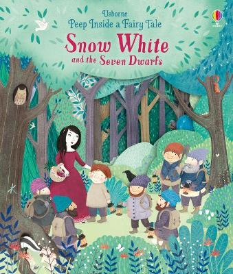 Peep Inside a Fairy Tale Snow White and the Seven Dwarfs book