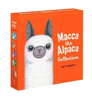 Macca the Alpaca Collection by Matt Cosgrove