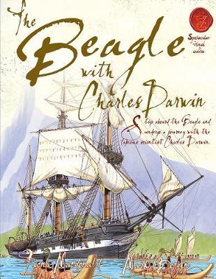 Beagle With Charles Darwin by Fiona MacDonald