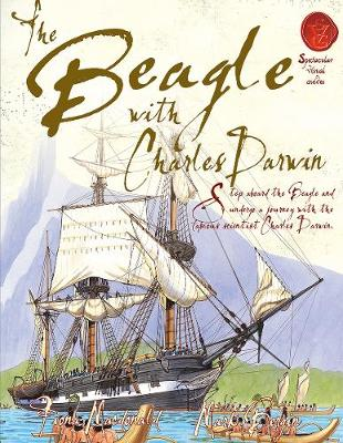Beagle With Charles Darwin by Fiona MacDonald