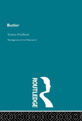 Butler-Arg Philosophers by Terence Penelhum