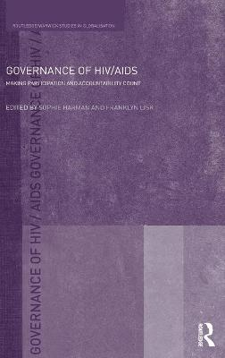 Governance of HIV/AIDS book