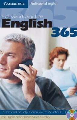 English365 1 Personal Study Book with Audio CD: For Work and Life by Bob Dignen