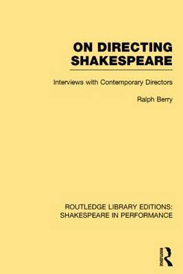 On Directing Shakespeare book