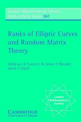 Ranks of Elliptic Curves and Random Matrix Theory by J. B. Conrey